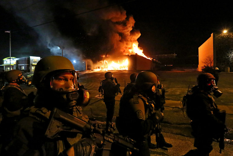 Image: Ferguson Violence After No Indictment For Killing