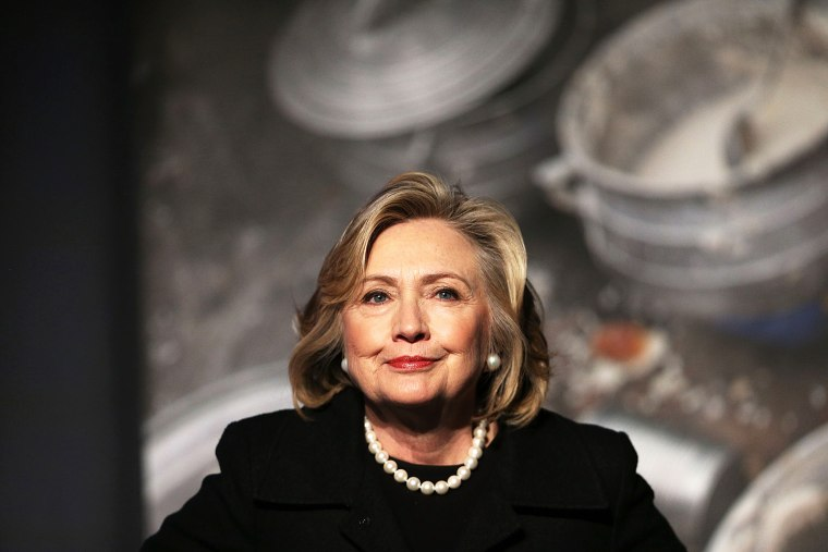 Hillary Rodham Clinton attends an event on Nov. 21, 2014 in New York, N.Y. (Photo by Spencer Platt/Getty)