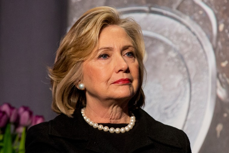 Former U.S. Secretary of State, Hillary Clinton attends an event in New York, N.Y. on Nov. 21, 2014. (Photo by Brendan McDermid/Reuters)