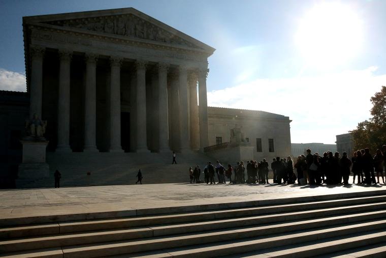 Supreme Court Hears Arguments In Alabama Gerrymandering Case