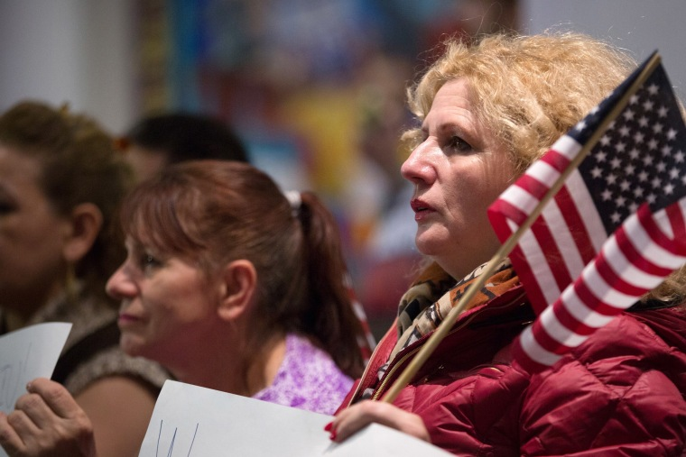Immigration Activists Watch Obama's Speech On Immigration Reform