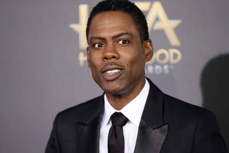 Chris Rock arrives at the Hollywood Film Awards in Hollywood