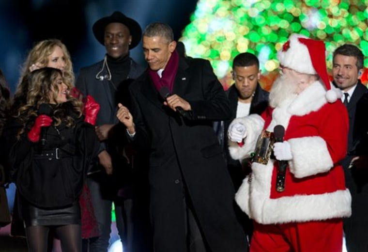 Barack Obama, Nico & Vinz, The Tenors, Fifth Harmony, Chely Wright