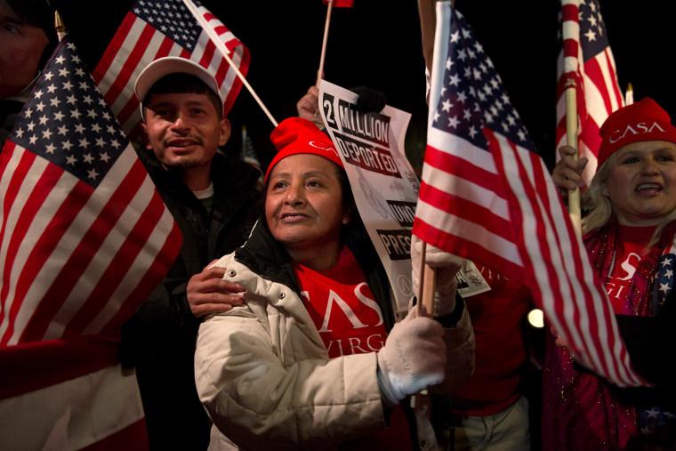 Immigration celebrations outside White House