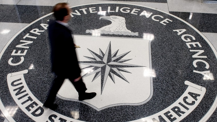 A man crosses the Central Intelligence A