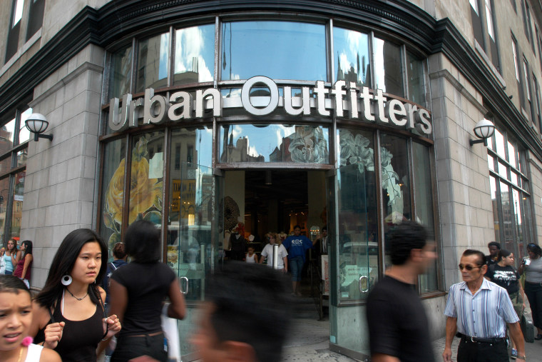 An Urban Outfitters store is seen in New York, N.Y. (Photo by Jason Kempin/Redux)