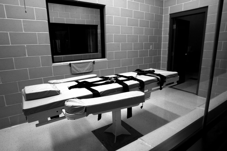 The lethal injection chamber at a prison in Phoenix, Ariz. (Photo by Q. Sakamaki/Redux)