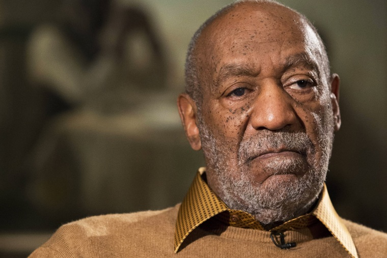 In this photo taken Nov. 6, 2014, entertainer Bill Cosby pauses during an interview in Washington, D.C. (Photo by Evan Vucci/AP)