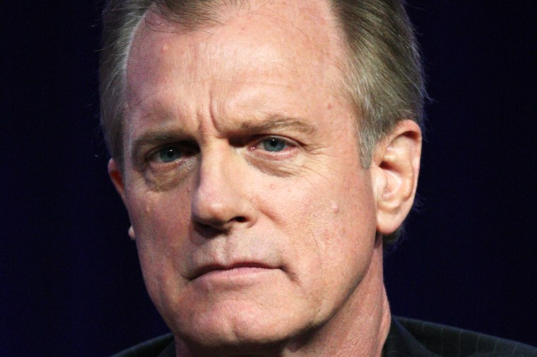 Actor Stephen Collins speaks onstage on Aug. 1, 2010 in Beverly Hills, Calif. (Photo by Frederick M. Brown/Getty)