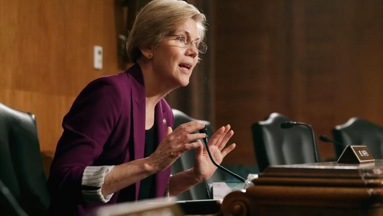 Senate Banking, Housing and Urban Affairs Committee member Sen. Elizabeth Warren on June 10, 2014 in Washington, DC. (Chip Somodevilla/Getty)