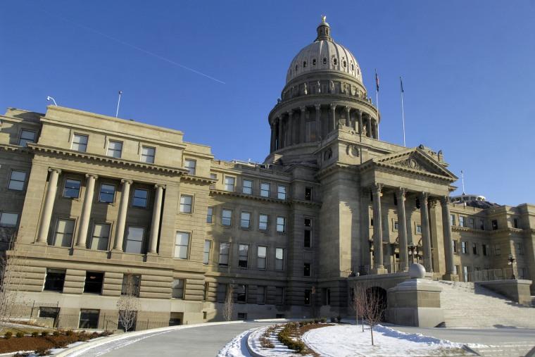 The Idaho statehouse in Boise, Idaho. (Charlie Litchfield/AP)