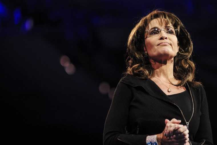 Sarah Palin, former Governor of Alaska, speaks at the 2013 Conservative Political Action Conference on March 16, 2013 in National Harbor, Md. (Pete Marovich/Getty)