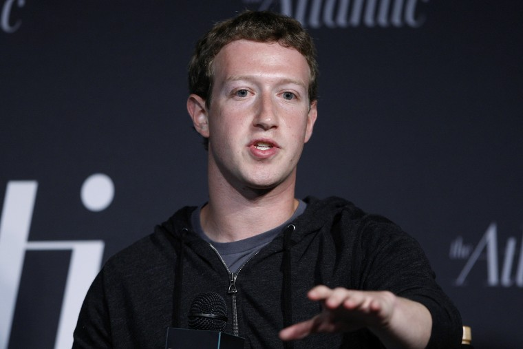Facebook CEO Mark Zuckerberg delivers remarks in an onstage interview for the Atlantic Magazine in Washington, Sept. 18, 2013.