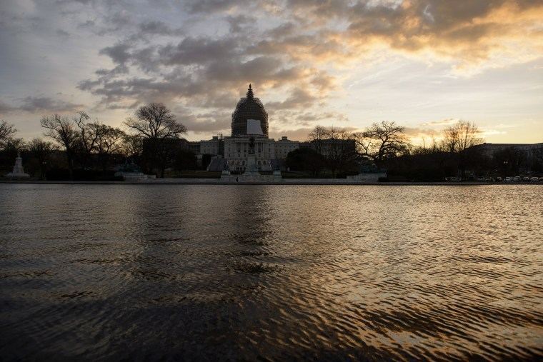 The US Capitol dome is seen on Capitol Hill on Jan. 5, 2015 in Washington, D.C. (Photo by Brendan Smialowski/AFP/Getty)