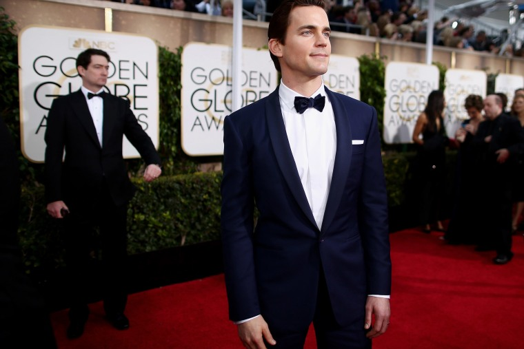 Matt Bomer speaks onstage during the 72nd Annual Golden Globe Awards at The Beverly Hilton Hotel on Jan. 11, 2015 in Beverly Hills, Calif.