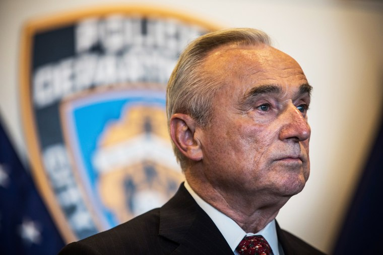 New York Police Department (NYPD) Commissioner Bill Bratton attends a press conference on Dec. 4, 2014 in the Queens borough of in New York, N.Y. (Photo by Andrew Burton/Getty)
