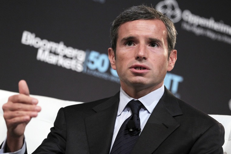 Antonio Weiss speaks at an event in New York, N.Y., on Sept. 13, 2012. (Photo by Jin Lee/Bloomberg/Getty)