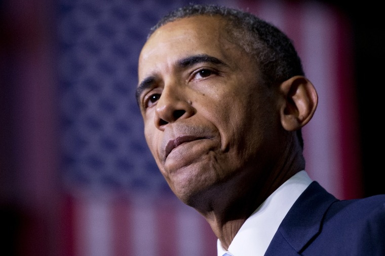 President Barack Obama speaks at an event on Jan. 9, 2015, at Pellissippi State Community College in Knoxville, Tenn. (Photo by Carolyn Kaster/AP)