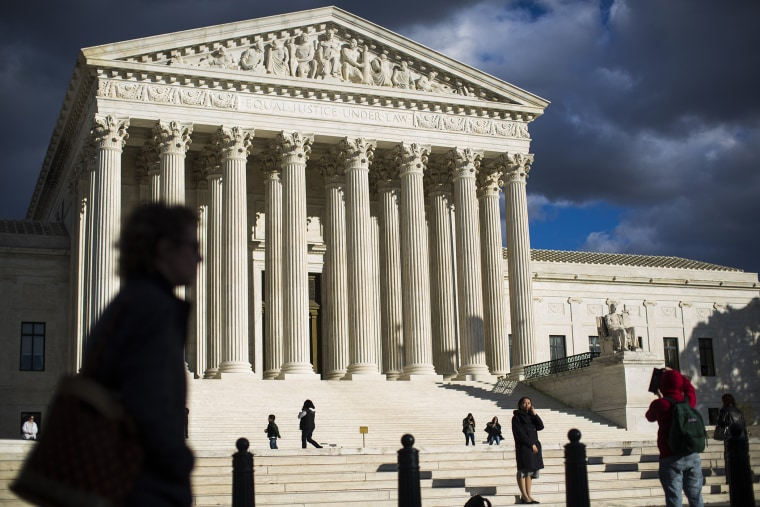 The U.S. Supreme Court in Washington on Nov. 7, 2014.