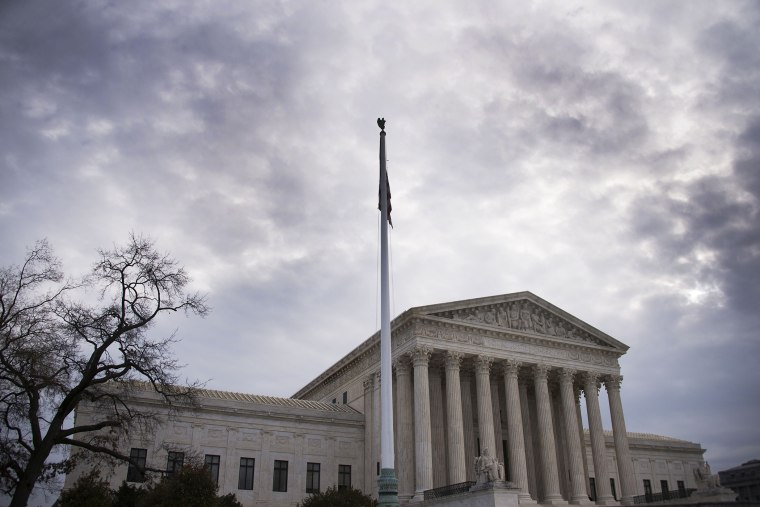 A general view of the US Supreme Court in Washington, D.C., Dec. 30, 2014. (Photo by Jim Watson/AFP/Getty)