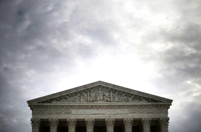 A general view of the US Supreme Court in Washington, DC, Dec. 30, 2014. (Photo by Jim Watson/AFP/Getty)