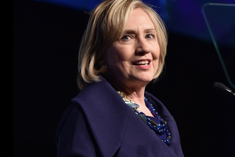 Hillary Rodham Clinton speaks on Dec. 16, 2014 in New York City. (Photo by Mike Coppola/Getty)