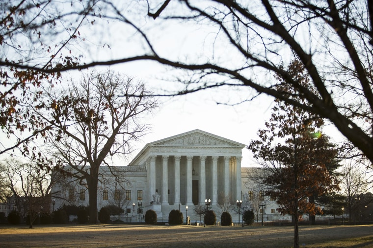 A view of the Supreme Court, Jan. 16, 2015 in Washington, D.C. (Photo by Drew Angerer/Getty)