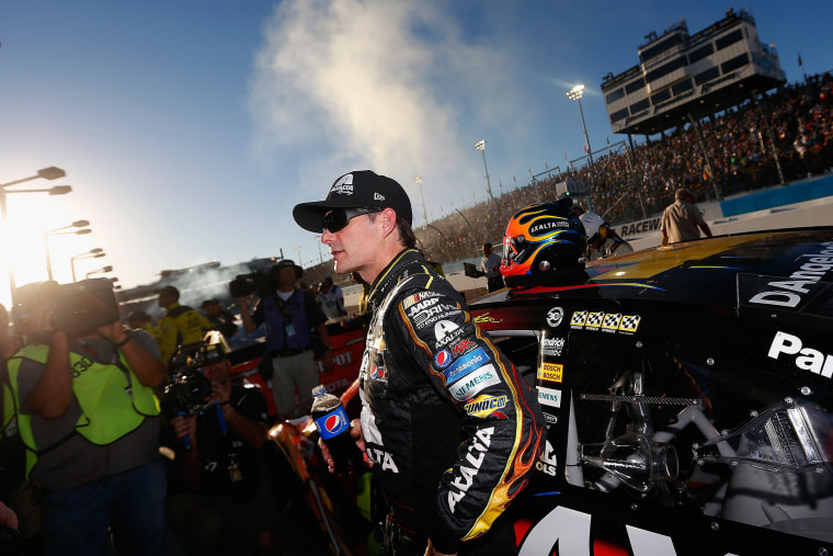 Jeff Gordon at Phoenix International Raceway on November 9, 2014 in Avondale, Arizona.