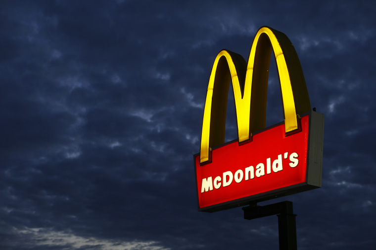 A McDonald's restaurant is pictured in Encinitas, California Sept. 9, 2014. (Photo by Mike Blake/Reuters)