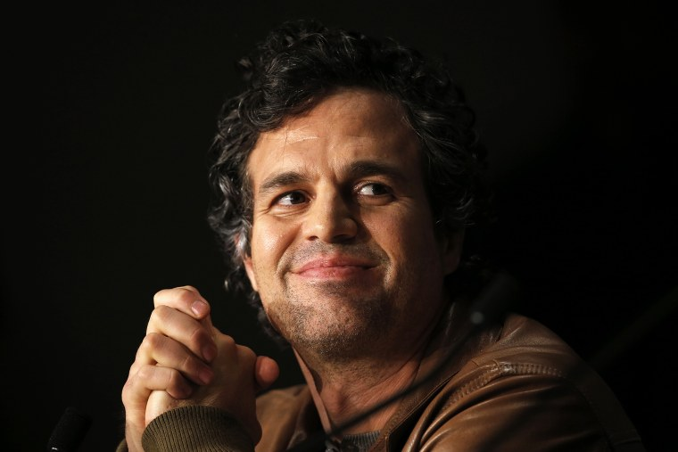 Cast member Mark Ruffalo attends a news conference at the 67th Cannes Film Festival in Cannes May 19, 2014. (Photo by Eric Gaillard/Reuters)