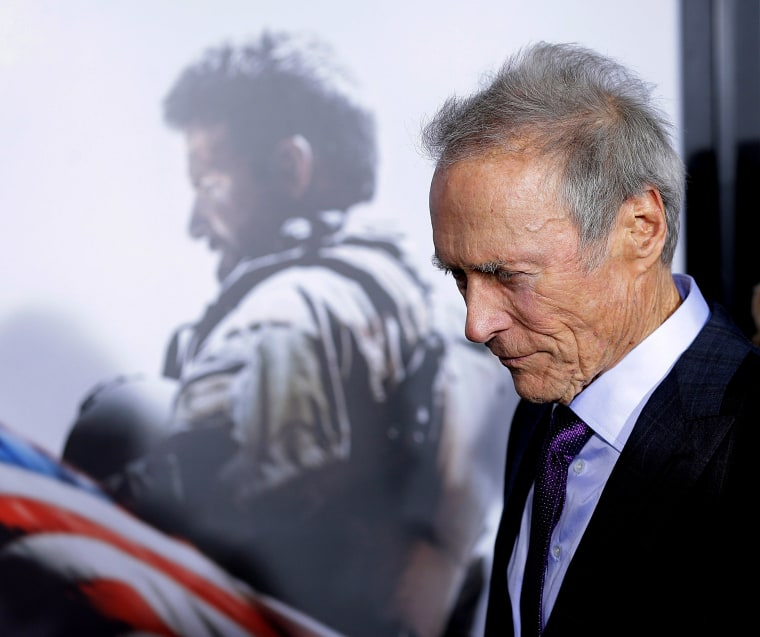 """Director and producer, Clint Eastwood attends """"American Sniper"""" New York Premiere at Frederick P. Rose Hall, Jazz at Lincoln Center on Dec. 15, 2014 in New York City. (Photo by John Lamparski/Getty)"""