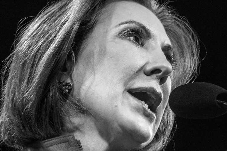 Carly Fiorina at the Iowa Freedom Summit in Des Moines, Iowa on Jan. 24, 2015.