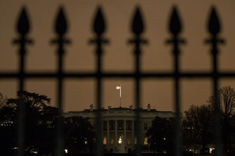 The south side of the White House is seen Jan. 26, 2015 in Washington, D.C. (Photo by Brendan Smialowski/AFP/Getty)