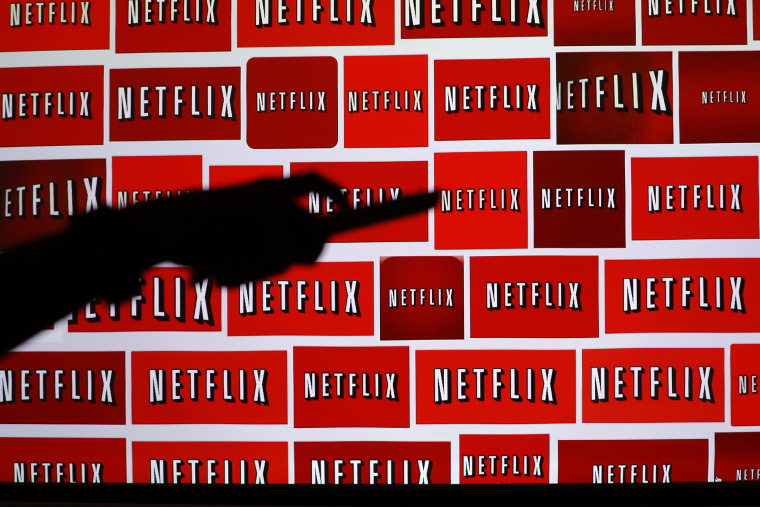 The Netflix logo is shown in this illustration photograph in Encinitas, Calif. (Photo by Mike Blake/Reuters)