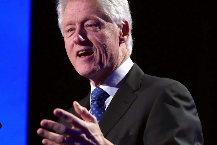 Former President of the United States Bill Clinton speaks on Jan. 10, 2015 in Los Angeles, Calif.