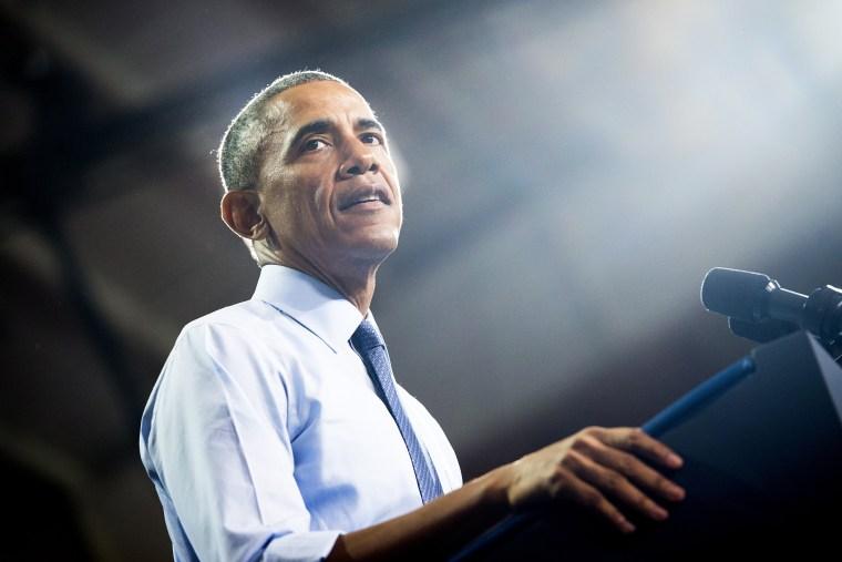 President Barack Obama speaks at the University of Kansas in Lawrence, Kansas, Jan. 22, 2015. (Photo by Saul Loeb/AFP/Getty)