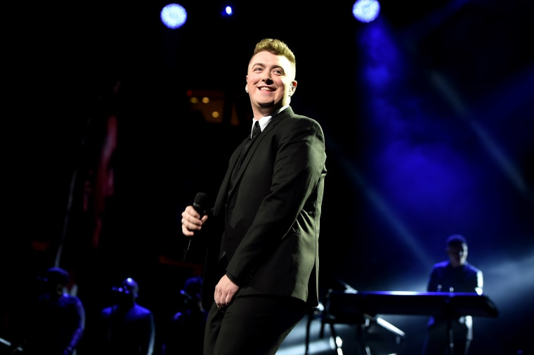 Sam Smith performs at Madison Square Garden on Jan. 15, 2015 in New York City. (Photo by Theo Wargo/Getty)