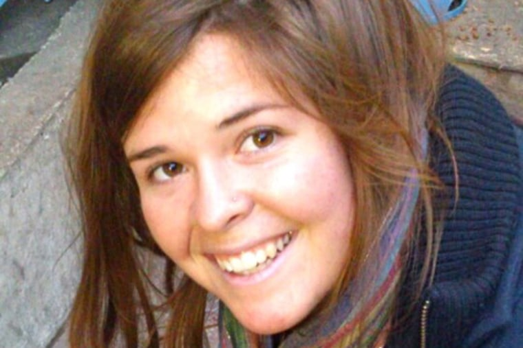 Kayla Mueller. (Courtesy of the Family)