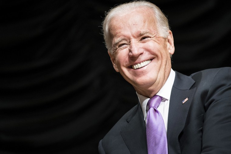 US Vice President Joe Biden smiles at an event in Washington on Sept. 6, 2013.