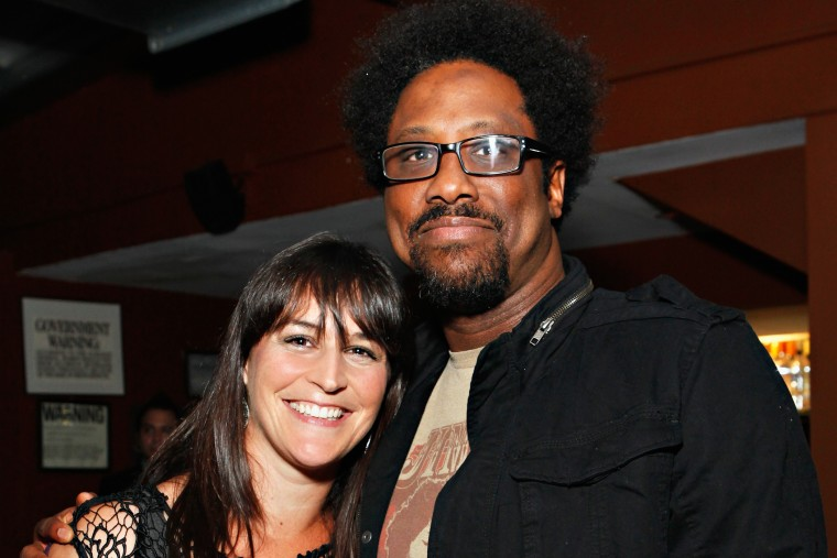 Melissa Hudson Bell and W. Kamau Bell attend an event on Aug. 9, 2012 in New York, N.Y. (Photo by Cindy Ord/Getty)