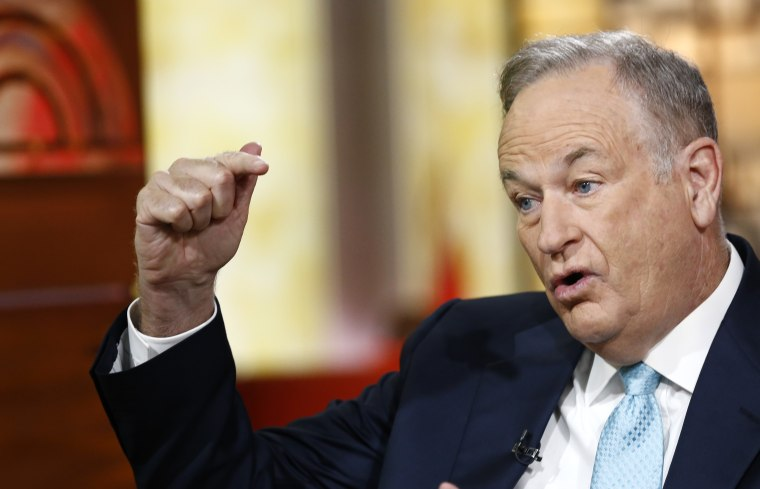 """Bill O'Reilly appears on NBC News' """"Today"""" show. (Photo by Peter Kramer/NBC/NBC NewsWire via Getty)"""