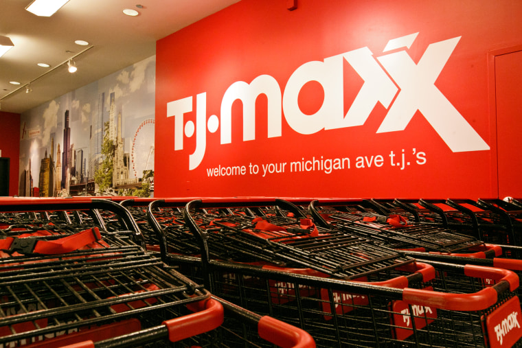 A T.J. Maxx in the Chicago area. (Photo by Jeff Schear/Getty for T.J. Maxx)