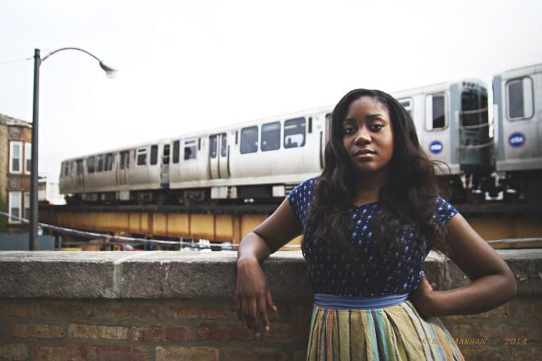 Chicago rapper Noname Gypsy.