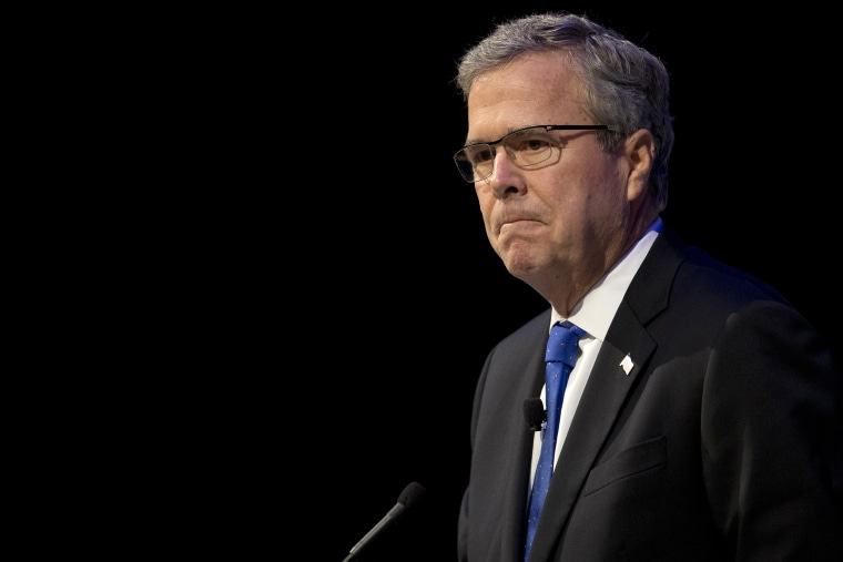 Former Florida Gov. Jeb Bush speaks at an event in Detroit, Mich., Feb. 4, 2015. (Photo by Paul Sancya/AP)