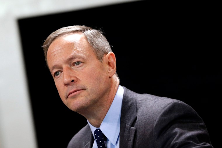 In this Jan. 8, 2014, file photo Maryland Gov. Martin O'Malley speaks during a roundtable interview in Annapolis, Md. (Photo by Patrick Semansky/AP)