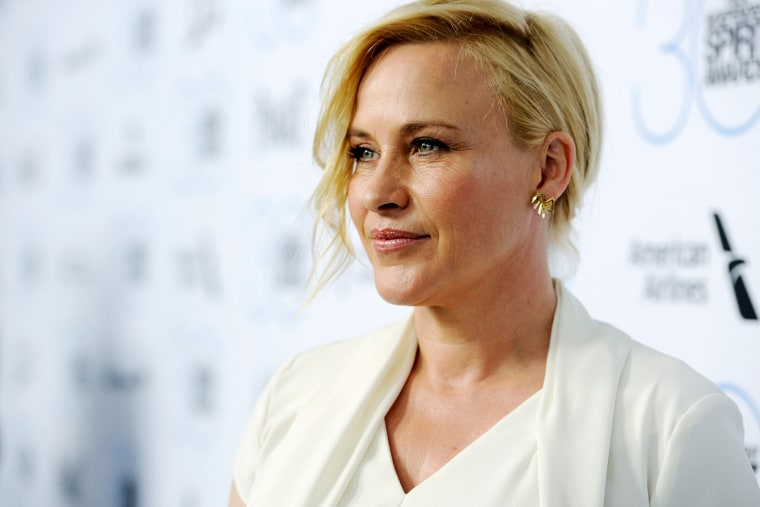 Patricia Arquette poses during an event on Jan. 10, 2015 in West Hollywood, Calif. (Photo by Chris Pizzello/Invision/AP)