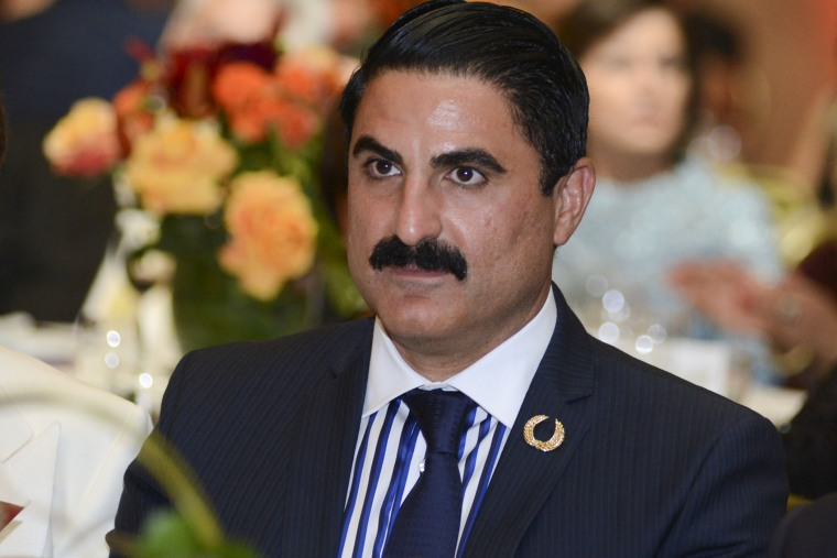 TV personality Reza Farahan attends the Pars Equality Center's 1st Annual Los Angeles Autumn Gala at Hilton Universal Hotel on Sept. 13, 2014 in Los Angeles, Calif.