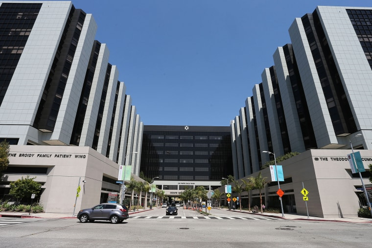 General View of Cedars-Sinai Hospital on June 17, 2013 in Los Angeles, Calif. (Photo by Frederick M. Brown/Getty)