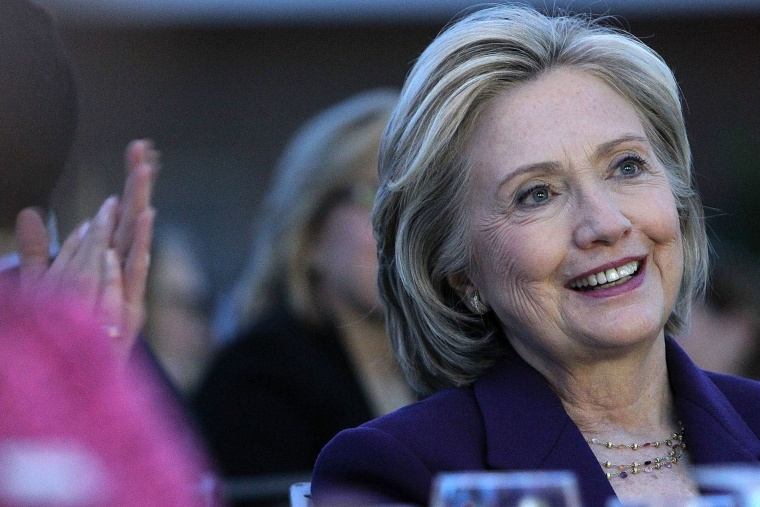 Former U.S. Secretary of State Hillary Clinton attends the EMILY's List 30th Anniversary Gala at Hilton Washington Hotel on March 3, 2015 in Washington, DC.