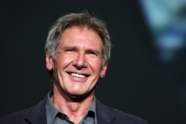 """Actor Harrison Ford attends """"Indiana Jones and the Kingdom of the Crystal Skull"""" Japan Premiere at the National Yoyogi Gymnasium on June 5, 2008 in Tokyo, Japan. (Photo by Junko Kimura/Getty)"""